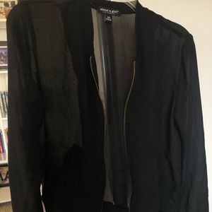About a Girl Black Jacket